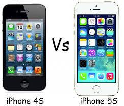 iPhone 4S vs Apple iPhone 5S