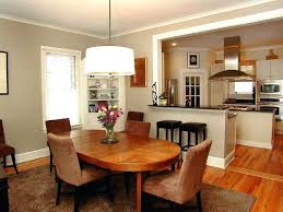 Design Of Dining Room Kitchen Rooms Combined Modern Combo Cabinets