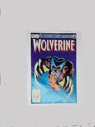 Wolverine 2 Limited Series Marvel Comics 1982 Frank Miller X Men