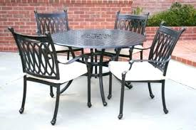 Round Patio Table And Chairs Set Outdoor Dining Sets