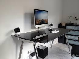 Imac Monitor Desk Mount by Peter Petrovski U0027s Desk Mac Desks