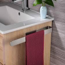 apokko bad handtuchhalter ohne bohren handtuchstange selbstklebend handtuchring edelstahl 37cm