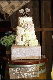 Rustic Wedding Cake Burlap Designs Decorations Bird Toppers