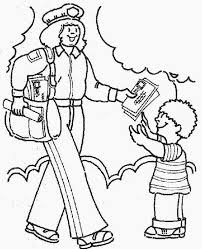 Community Helpers Coloring Pages Free To Print