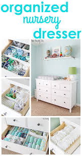 Hemnes Dresser 3 Drawer White by Nursery Dresser Organization