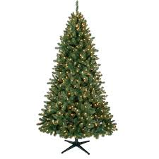 Christmas Tree 6ft Pre Lit by Holiday Time Pre Lit 7 U0027 Duncan Christmas Tree Green Clear Lights