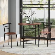 Zipcode Design Volmer 3 Piece Compact Dining Set & Reviews | Wayfair Tms 3piece Bistro Ding Set Walmartcom Breakfast 3 Piece Wilko Ashley Fniture Bringer Drop Leaf Table 2 Upholstered Amazoncom Linon Tavern Collection 36 With Two Chairs All Light Oak Meg Meg3pctableset Lifestyle Mack Milo Nicklas Kids Windsor Writing And Chair Metropolitan Multiple Finishes Arden Marble Look Top Coffeeend Coffee East West Anav3blkw Kitchen Nook Sofa Recliner Fold Down Cup Holders Steve Silver Antoinette Pedestal Pub Bar Stool