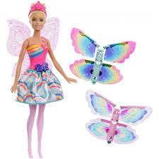 Barbie Dreamtopia Flying Wings Fairy Doll Blondr