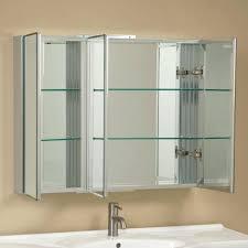 White Bathroom Wall Cabinets With Glass Doors by Bathroom Wall Mirror Cabinet U2013 Hondaherreros Com