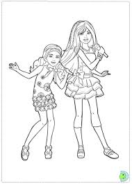 Barbie In A Perfect Christmas Coloring Page DinoKidsorg