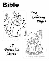 Bible Good Childrens Coloring Pages