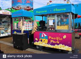 100 Food Trucks In Santa Monica Street Vendors On The Pier Stock Photo 95646023 Alamy
