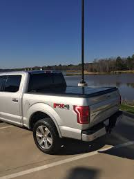 100 F 150 Truck Bed Cover Ord Retractable Tonneau Cover On An Ingot Silver X4 Ord
