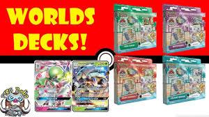 pokémon tcg news world chionship decks announced with