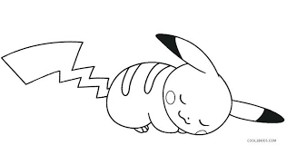 Pokemon Pikachu Coloring Pages Online And Friends
