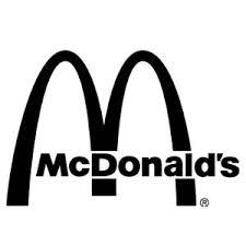 Mcdonalds Logo Black Pixshark Images G Eries