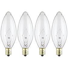 westinghouse 4027 60 watt b10 decorative ceiling fan bulb