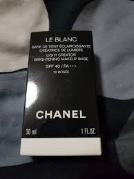 100 Rosee Le Blanc Light Creator Lightening Make Up Base 10 Health
