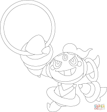 Click The Hoopa Pokemon Coloring Pages
