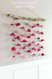 Boho Flower Wall Hanging Made From Egg Cartons Fun CraftsCrafts