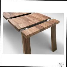 table ronde design avec rallonge 1 table avec rallonge bois