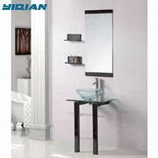 badezimmer boden stehend gespiegeltes modernes glas waschbecken buy glas waschbecken moderne glas becken bad glasbecken product on alibaba