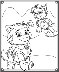 Free Online Coloring Pages Paw Patrol