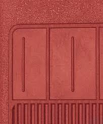 1967 69 Camaro 68 74 Nova 4 Piece Red Rubber Bow Tie Floor