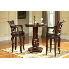 Scenic High End Pub Table And Chairs Set With Back Bistro ...