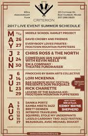 1932 Criterion Theatre Announces Live Event Line-Up For The Summer ... The Theater Barn Theatre Announces 2016 Season West Michigan Tourist Association Hillbarn San Jose Tickets Schedule Seating Charts School For Advanced Traing 2017 Rent Cast Summer Stock New Ldon Playhouse Hampshire Barntheatre Dbarntheatre Summer Stage Red Info Charles Newsies