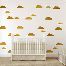 56pcs cloud wall stickers abnehmbare kinder