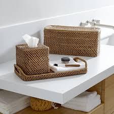 Pottery Barn Bathroom Accessories by Sedona Honey Bath Accessories Crate And Barrel Light Wicker