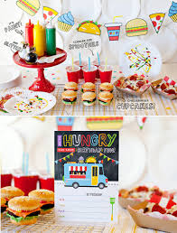 100 Truck Birthday Party Supplies A Food Inspired Kids Hostess With The Mostess