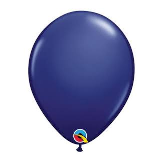 Qualatex 91179 11 in. Latex Balloon Navy