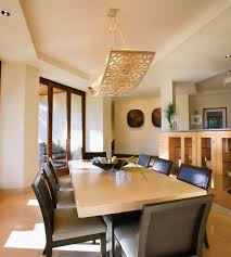 Inspiration For A Contemporary Dining Room Remodel In Miami With Beige Walls