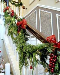 Banister Christmas Decorations Banister Garland The Village ... Christmas Decorating Ideas For Porch Railings Rainforest Islands Christmas Garlands With Lights For Stairs Happy Holidays Banister Garland Staircase Idea Via The Diy Village Decorations Beautiful Using Red And Decor You Adore Mantels Vignettesa Quick Way To Add 25 Unique Garland Stairs On Pinterest Holiday Baby Nursery Inspiring The Stockings Were Hung Part Staircase 10 Best Ideas Design My Cozy Home Tour Kelly Elko