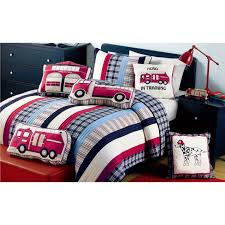 100 Varsity Blues Truck Shop Ronnie Striped Quilt And Sham Set On Sale Free