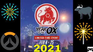 Items Where Year Is 2021 Overwatch Lunar New Year 2021 Event All Items Skins Emotes Highlight Intros Ect Squishymain