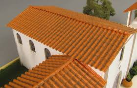 missions of california detailing roof tile