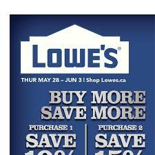 Lowes Canada Deck Tiles by Lowe U0027s Weekly Flyer Weekly Buy More Save More May 28 U2013 Jun 3