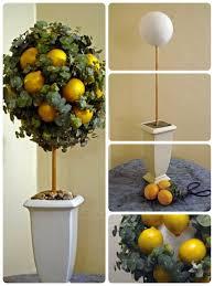 Make A Lemon And Eucalyptus Topiary Kitchen ThemesLemon DecorKitchen