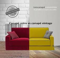 spécialiste canapé canapé rétro vs canapé vintage les différences déco