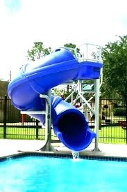 Pool Slides For Sale Build Your Own Slide Vortex Residential Water G Big Above Ground Swimming Round Designs Fiberglass