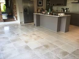 Restoring The Polish On Pet Soiled Limestone Floor Tiles In Biddenham
