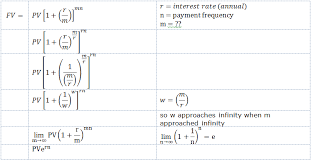 Sinking Fund Formula Derivation by Quant Interest Rates Continuously Compounded