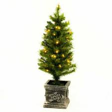 Balsam Christmas Trees Uk by 3ft Potted Pre Lit Teton Fir Artificial Christmas Tree Pre Lit Tree