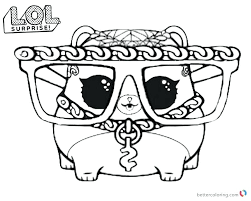 900x720 Lol Surprise Coloring Pages Unicorn Series 3 Hammy Free Printable