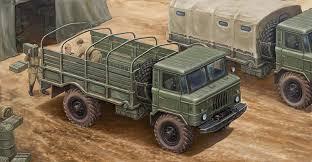 100 Russian Military Trucks Amazoncom Trumpeter GAZ66 Light Truck Model Kit