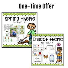 Spring Insect Theme Bundle Special Offer The Measured Mom