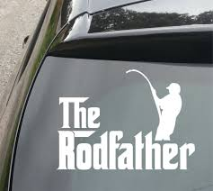 Rodfather Fishing Funny Van/Car JDM VW DUB VAG EURO Vinyl Decal ... 2 Fish Skeleton Decals Car Sticker Fishing Boat Canoe Kayak Rodfather Funny Vancar Jdm Vw Dub Vag Euro Vinyl Decal Tancredy Go Stickers And Bumper Bass Truck Wall Window 1pc High Quality 15179cm Id Rather Be Fly Angler Vinyl Decal Fly Fishing Sticker Ice Hell When Freezes Over Ill Visit To Buy 14684cm Is Good Bruce Pinterest 2018 Styling Daiwa Brand And For Hooked On Outdoor Life Camping